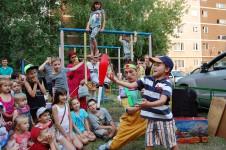 УЖК «Урал-СТ» провела для жителей Праздник двора